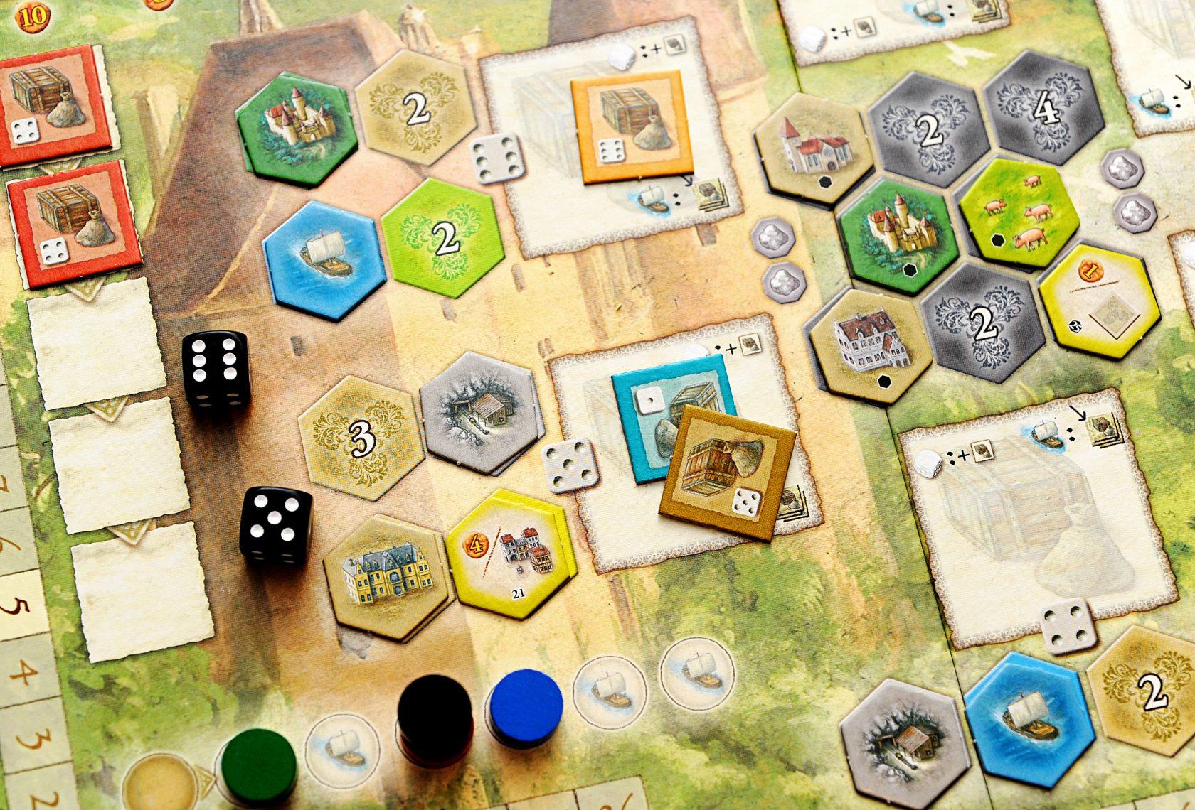 بازی رومیزی Castles of Burgundy