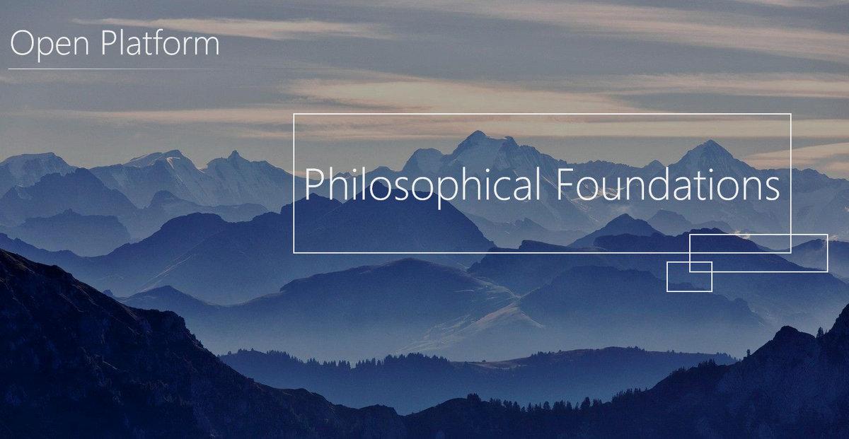 مبانی فلسفی توسعه و کاربرد پلتفرم های باز