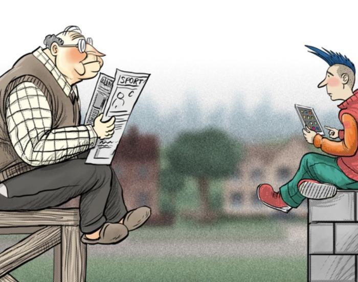 شکاف بین نسل ها و همه چیز درباره آن...