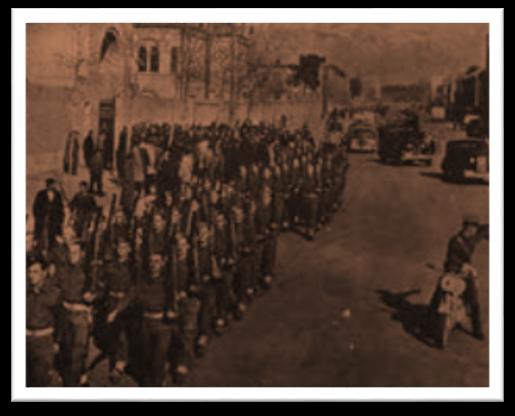 رژه نظامیان جنگ جهانی دوم در ایران