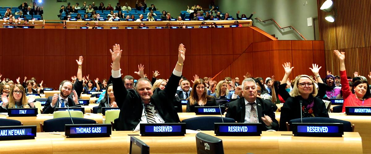 شعار سازمان ملل برای روز جهانی اوتیسم در سال 2019 فناوری های یاری رسان و مشارکت فعال