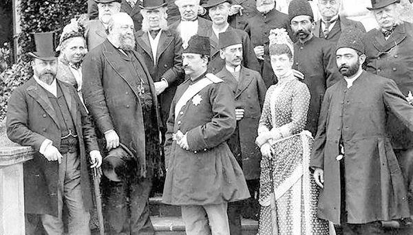 گزارش ناصرالدین شاه از ملاقات با زنان فرانسوی