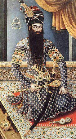 داستان رسیدن خبر مرگ عباس میرزا ولیعهد به فتحعلی شاه قاجار