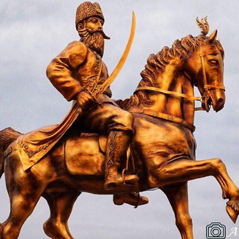در اوصاف شاهزاده عباس میرزا