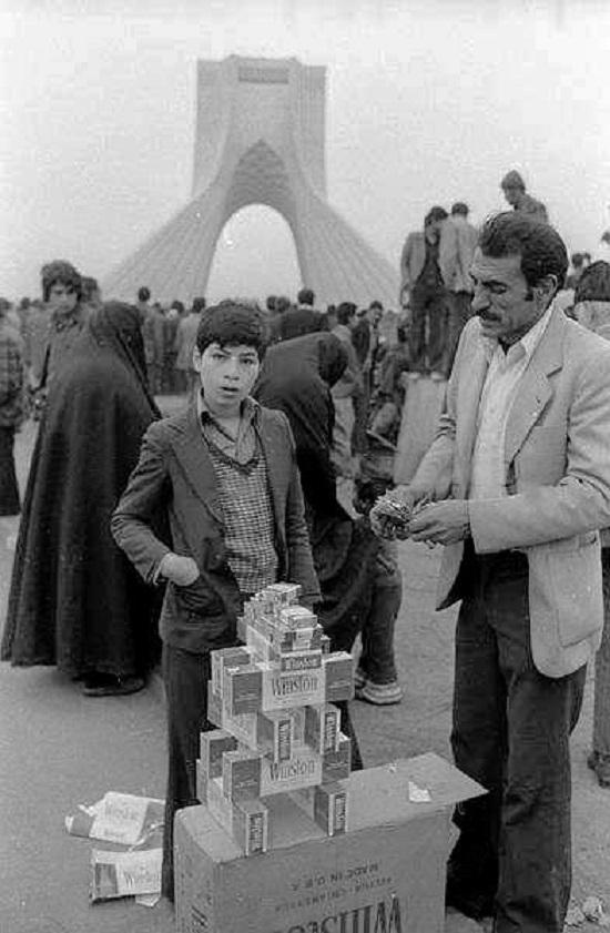 پسرک سیگار فروش 1360 خورشیدی