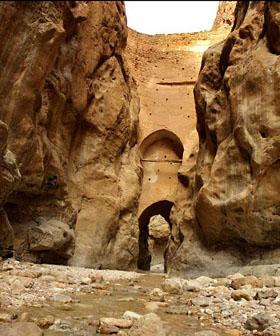 سد شاه عباسی طبس نازکترین سد جهان در ایران