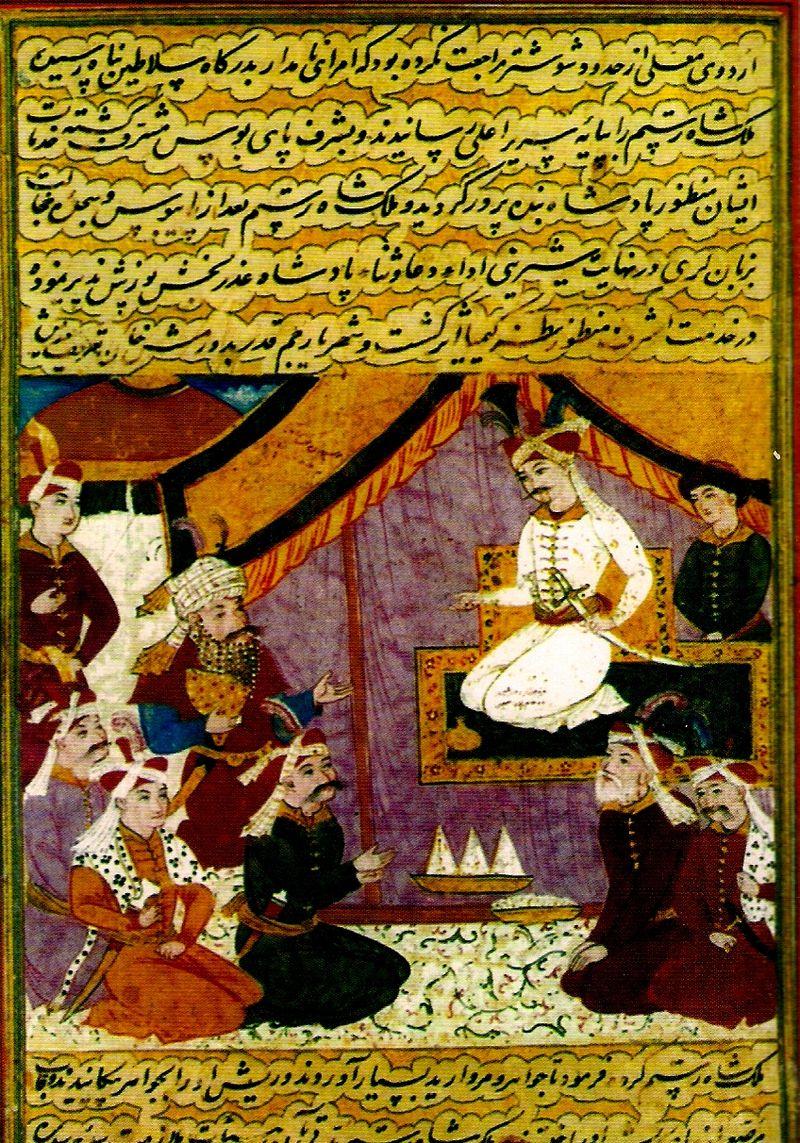 در احوالات شاه عباس دوم صفوی