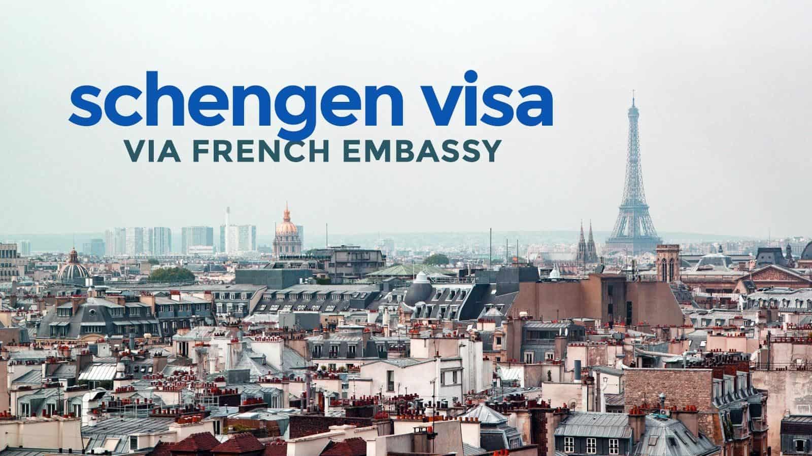 راهنمای وقت سفارت فرانسه