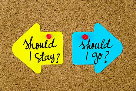 Photo of بهترین راه برای ماندن یا رفتن چیست؟
