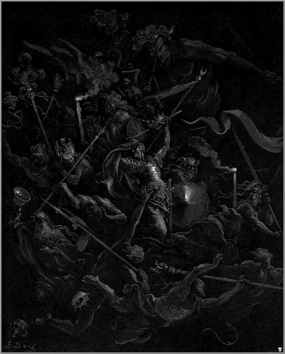 تصویر ۶- بهشت گمشده، کتاب ۳،اثر گوتساو دوره