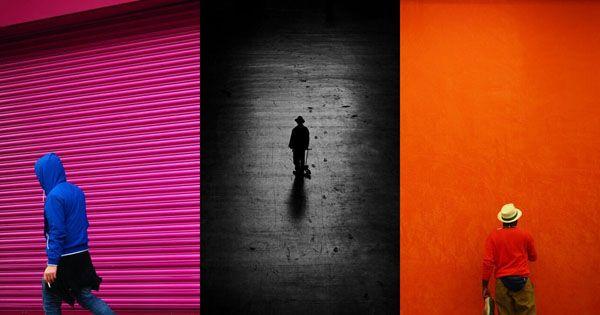 مثال های استفاده از فضای منفی در عکاسی
