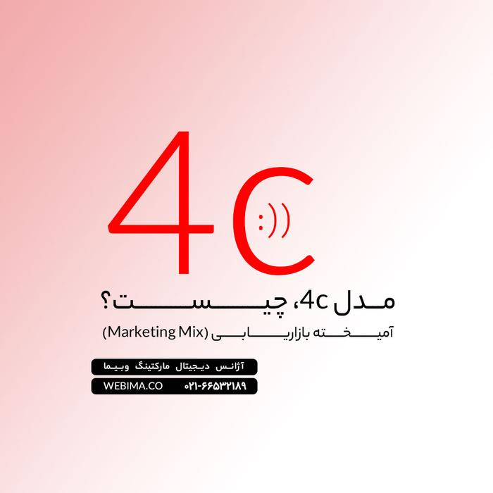 دیجیتال مارکتینگ با مدل 4c