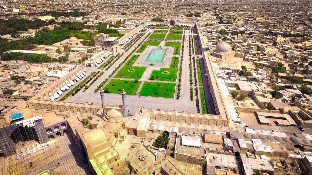 عکس از سید عادل موسویان - اصفهان - میدان نقش جهان