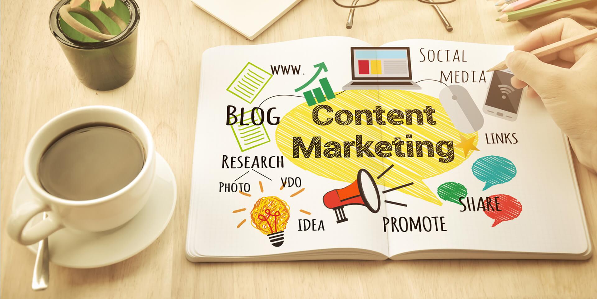 تولید محتوا و بازاریابی محتوا در شبکه های اجتماعی در اولویت است
