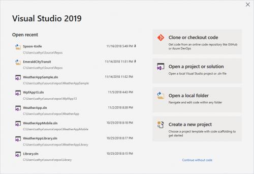 دانلود Visual Studio 2019 Preview 1