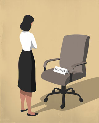 داستان سقف شیشه ای برای زنان در شرکتهای ایرانی