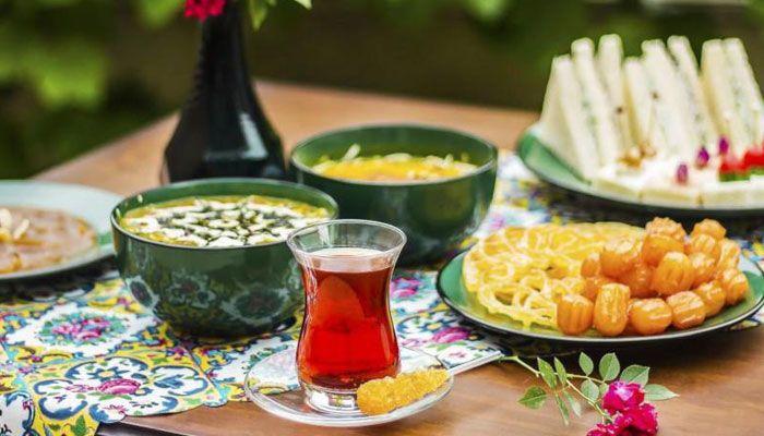 غذاهای ویژه ماه رمضان