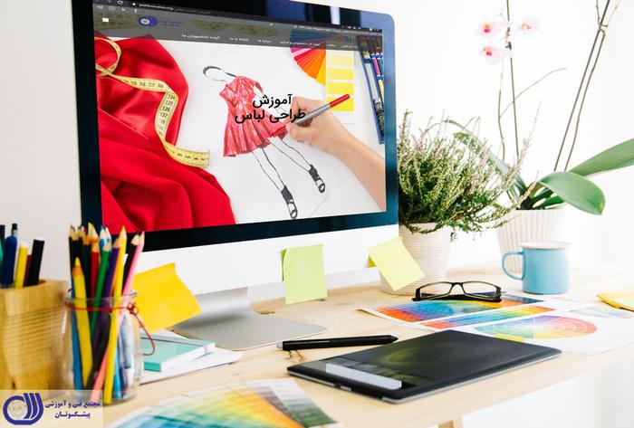 طراحی لباس و صنعت مد و فشن