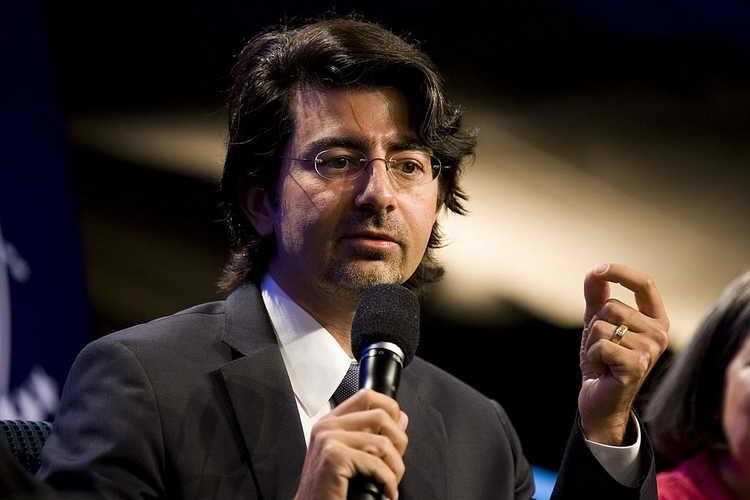پیر امیدیار ، موسس Ebay  و ثروتمند ترین ایرانی حال حاضر دنیا