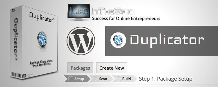 پلاگین Duplicator Pro - افزونه بک آپ و انتقال سایت