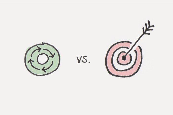 بجای تمرکز بر روی هدف بر روی موضوع متمرکز شوید!