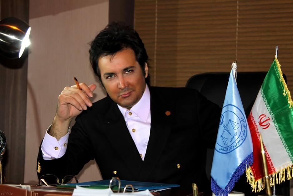 تصویری از یک نمونه وکیل بین المللی!