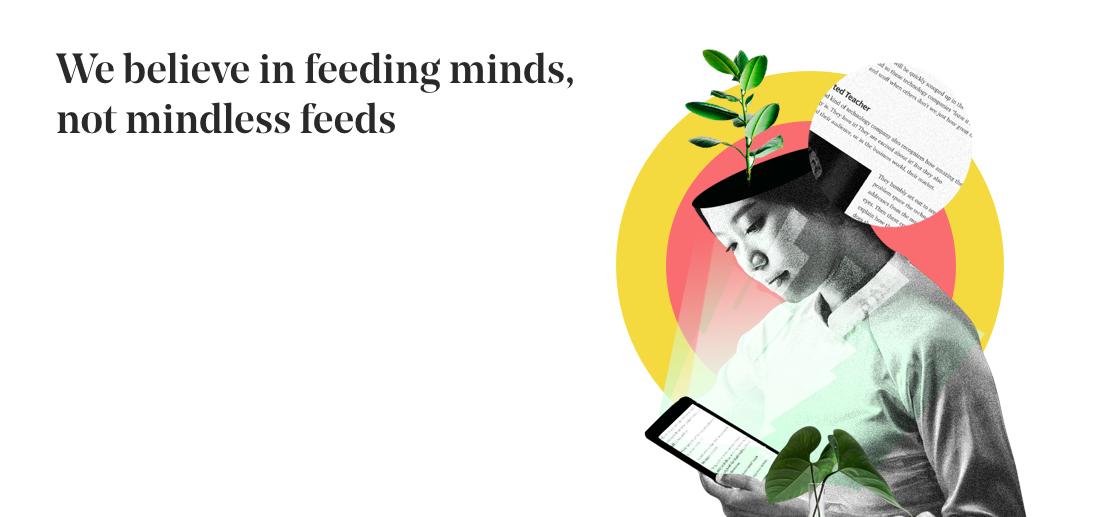 خودشون میگن ما به تغذیهی ذهنها اعتقاد داریم، نه به پستهای کسشر