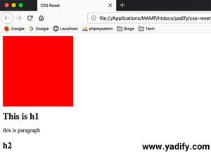 CSS Reset چیست؟ راهنما و آموزش کامل CSS Reset