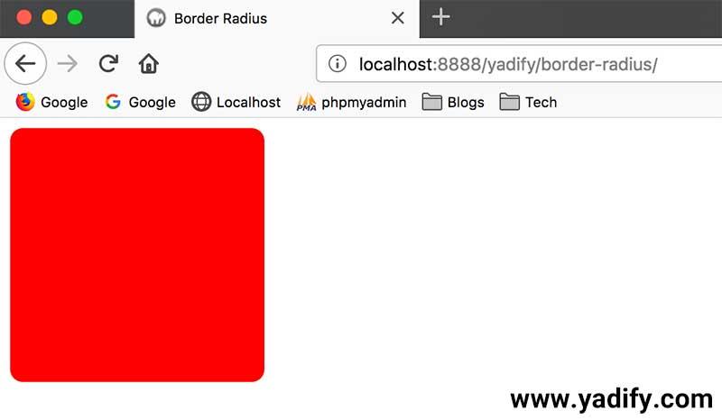 خمیده کردن گوشهی المانها (Border Radius) در CSS
