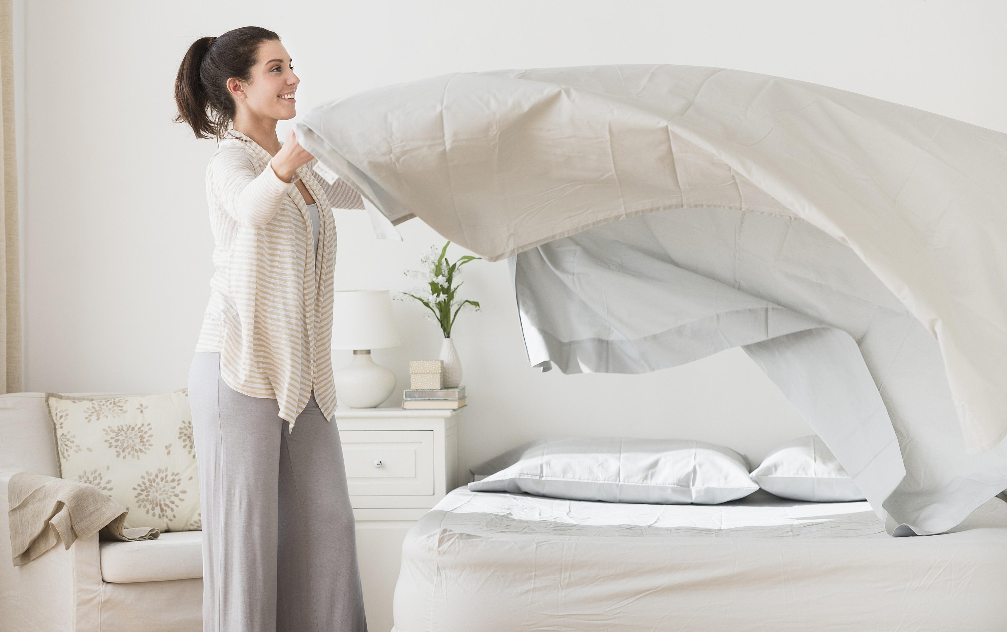 فواید یک تختخواب نامرتب