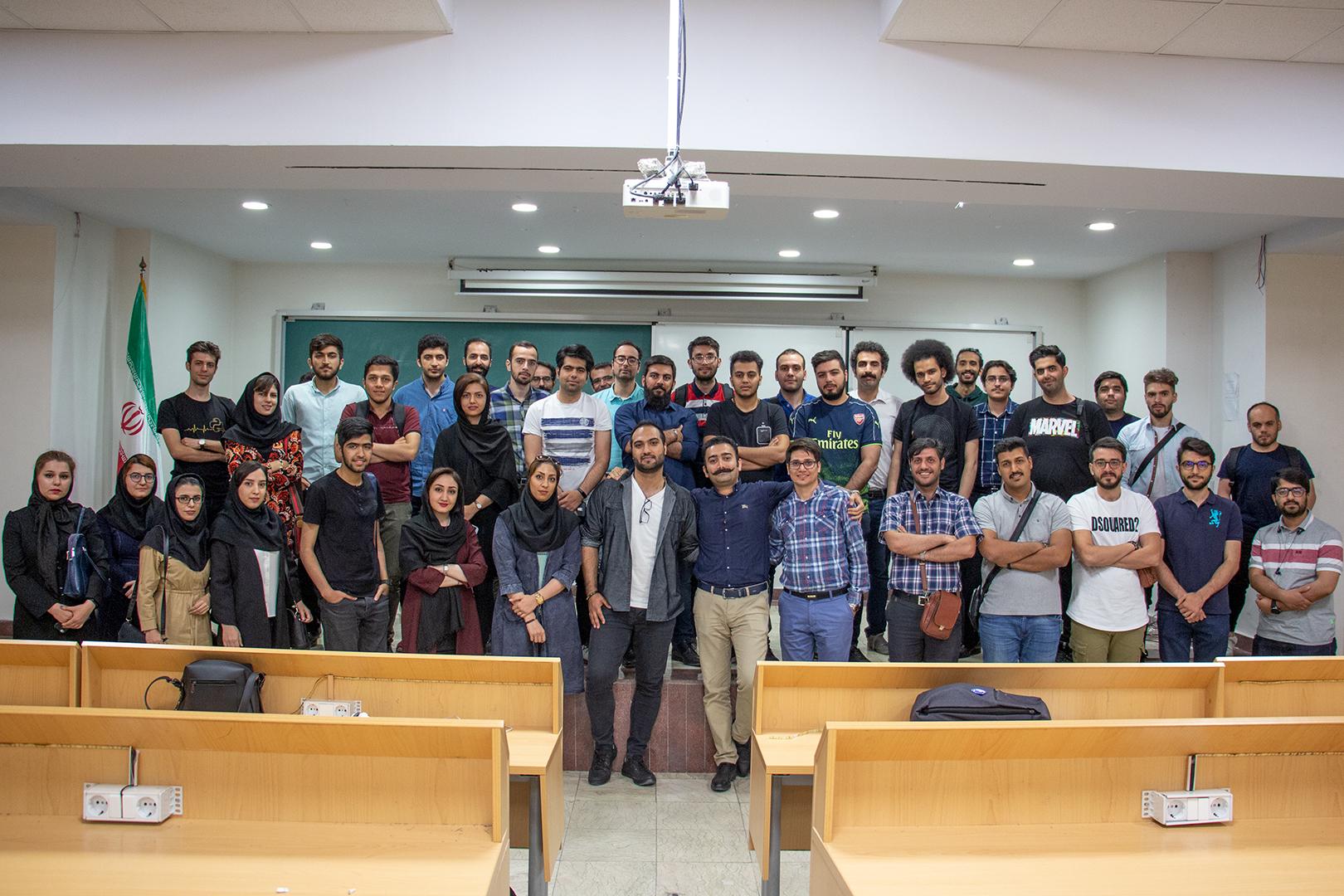 دومین رویداد جامعه ریاکت ایران در دانشگاه شهید بهشتی (26-2-98)