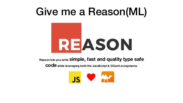 دنیای جدید جاوا اسکریپت - Reason ML