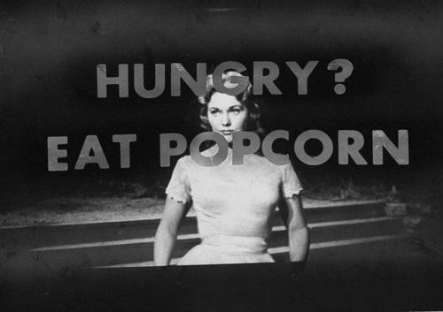 گرسنهته؟ پاپکورن بخور!'