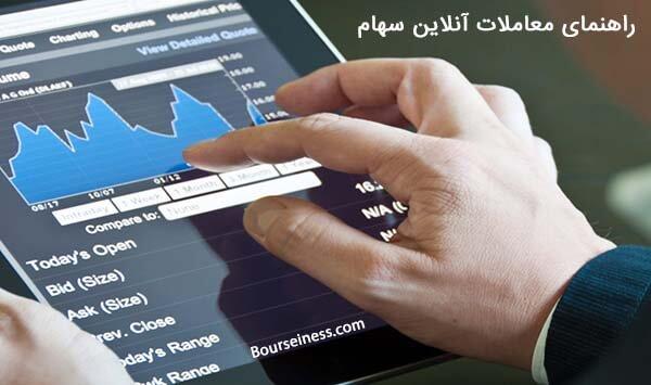 خرید و فروش سهام در بورس بصورت انلاین
