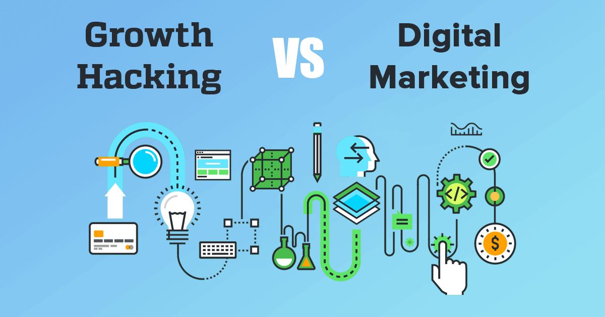 هکر رشد و دیجیتال مارکتر چه فرقی دارند؟