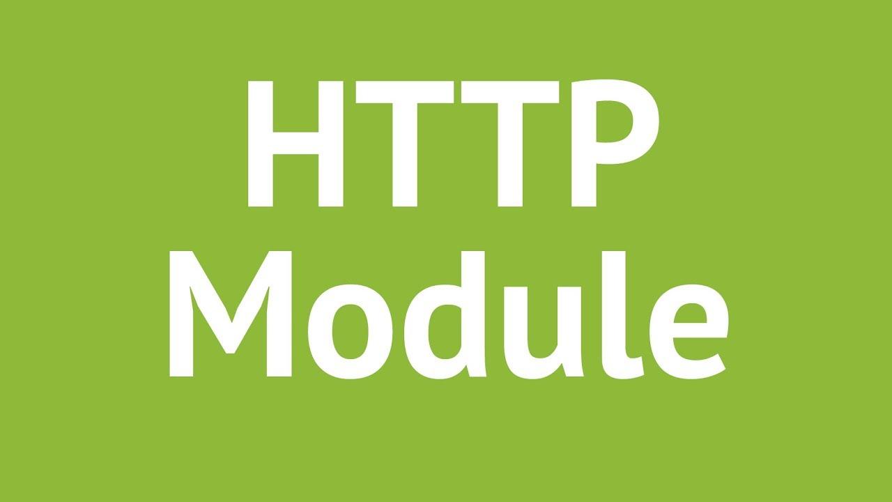 برنامه نویسی با nodejs/جلسه چهارم/ ماژول Http