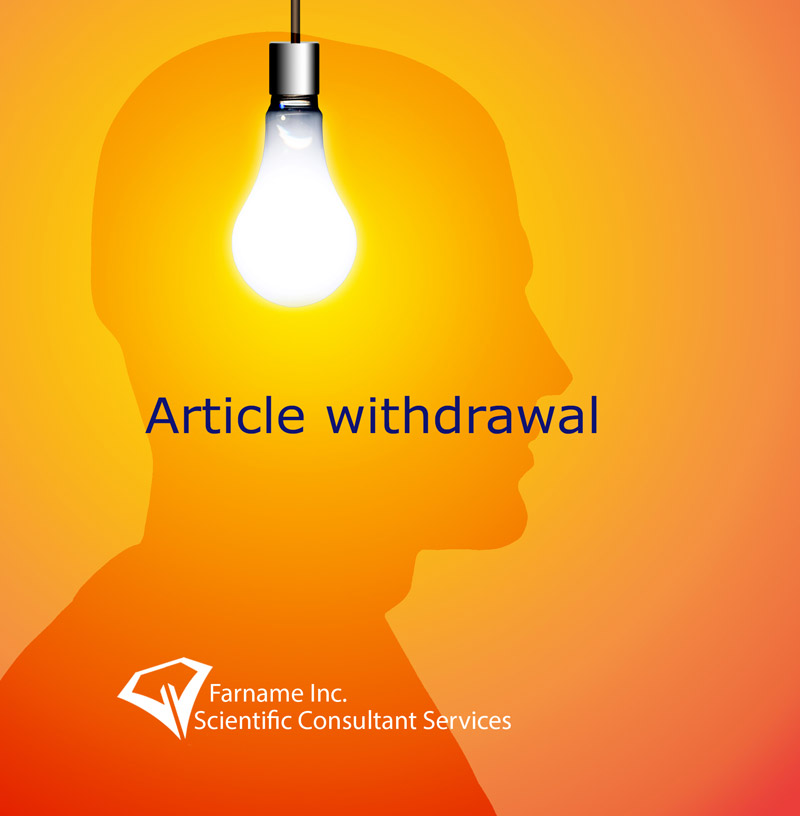 Article withdrawal