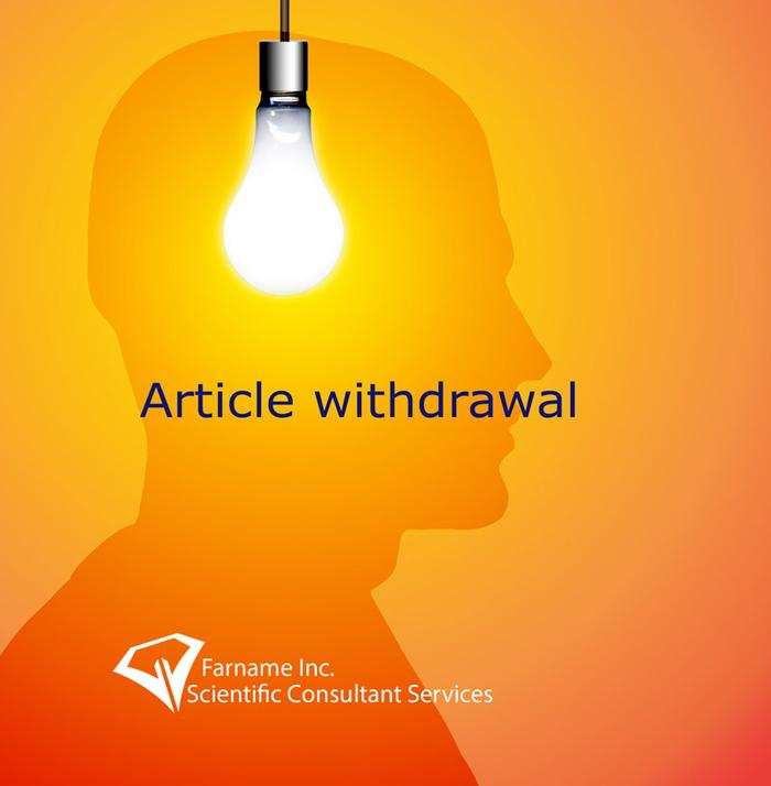 انصراف از انتشار مقاله یا Article withdrawal - Withdrawn