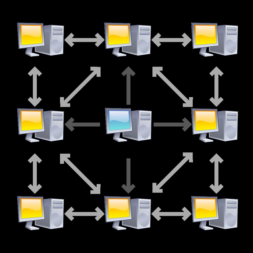 به جای اینکه همه فایل رو از یکجا بگیرن همه دست به دست هم دادن به مهر و فایل رو با هم اشتراک میذارن