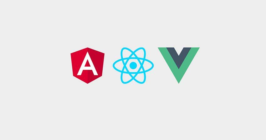مقایسه React و Vue و Angular
