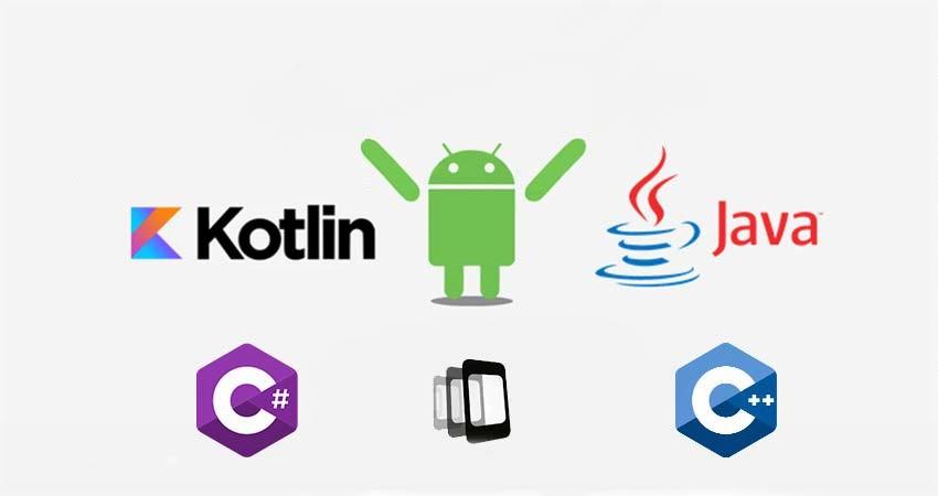 بهترین زبان برنامه نویسی برای توسعه برنامه اندروید