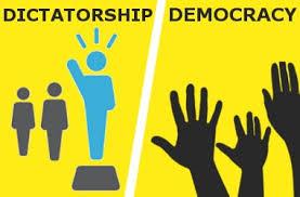 تدوین استراتژی، دموکراسی یا دیکتاتوری