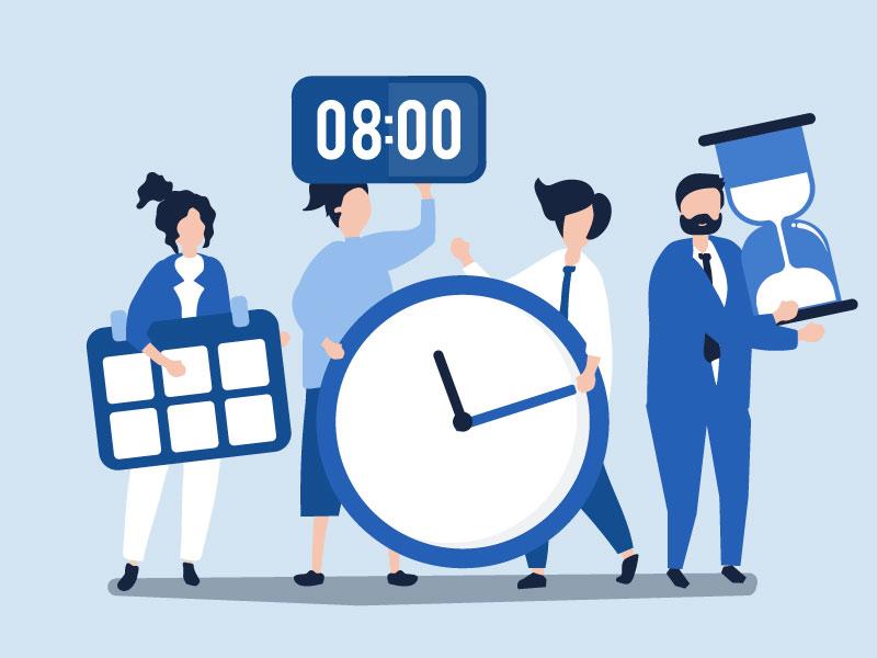 ۲۲ نکته موثر در مشخص کردن deadline
