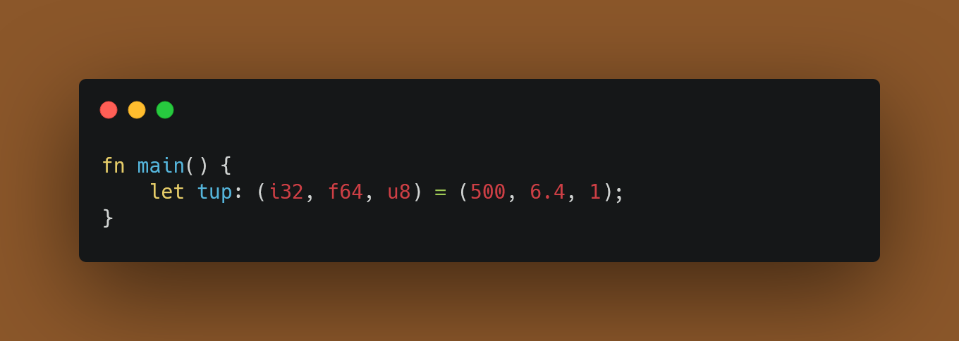 Tuple with optional type annotations