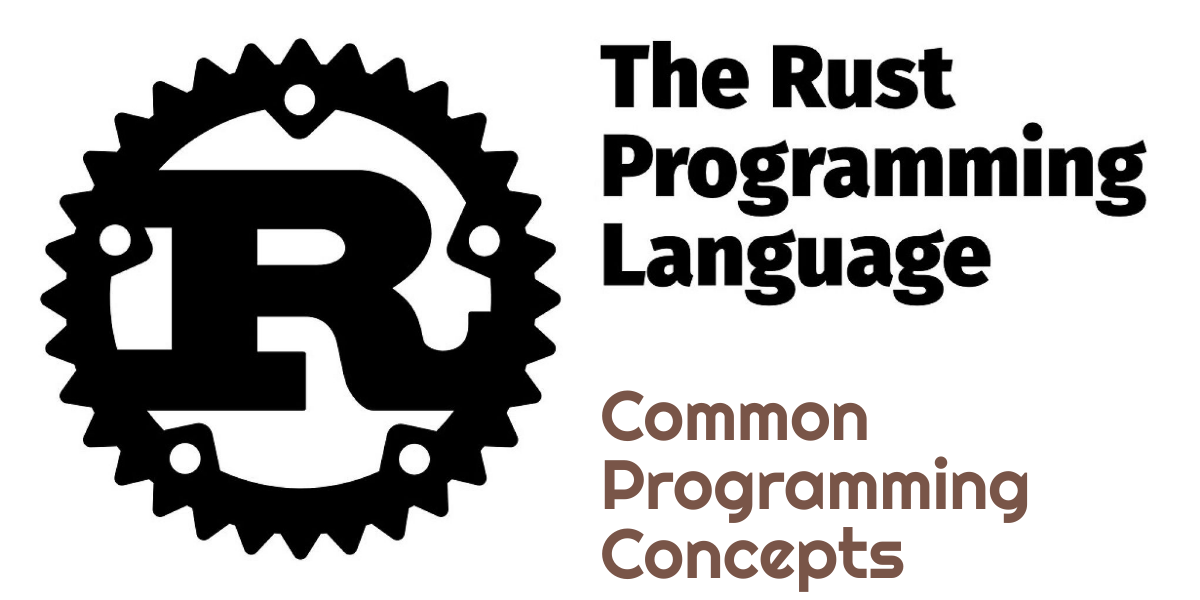 Rust Programming Language - Common Programming Concepts
