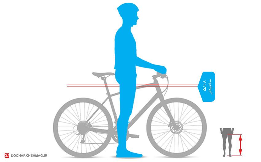 سایز دوچرخه مناسب