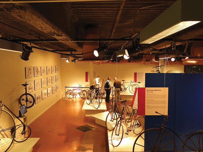 تالاری برای مشاهیر دوچرخه سواری