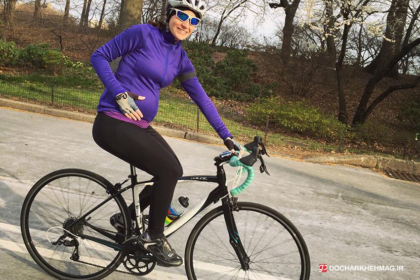 آیا در زمان بارداری می توان دوچرخه سواری کرد!؟