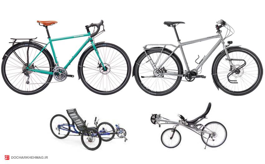 چطور یک دوچرخه توریستی اتخاب کنیم؟