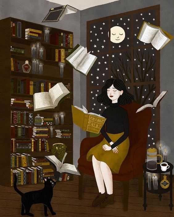وقتی کتابها صدایت میزنند